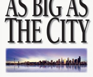 Book cover: A Theology as big as the city